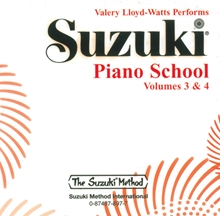 Picture of Suzuki Piano School Volume 3 & 4 CD