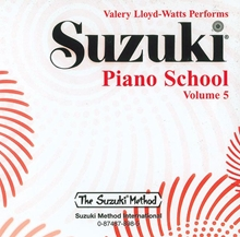 Picture of Suzuki Piano School Volume 5 CD