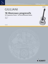 Picture of 18 Progressive Pieces for Guitar