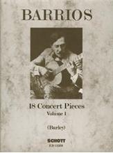 Picture of 18 Concert Pieces Bk 1 Guitar