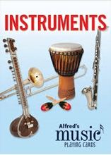 Picture of Alfred's Music Playing Cards: Instruments