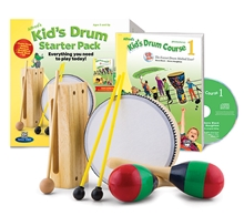 Picture of Alfred's Kid's Drum Course Starter Pack