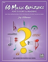 Picture of 60 Music Quizzes for Theory & Reading