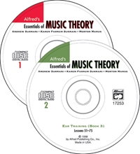 Picture of Alfred's Essentials of Music Theory: Ear Training CDs 1 & 2 Combined (for Books 1-3)