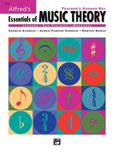 Picture of Alfred's Essentials of Music Theory: Teacher's Answer Key Bk/CD