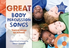 Picture of Great Body Percussion Songs Bk/CD