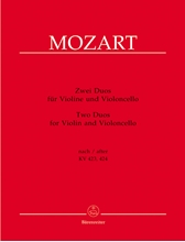 Picture of Two Duos for Violin and Cello