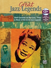 Picture of Meet the Great Jazz Legends Book/CD
