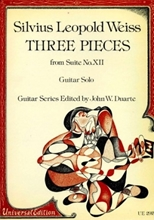 Picture of 3 Pieces from Suite No 12 for Guitar