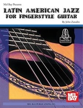 Picture of Latin American Jazz for Fingerstyle Guitar Bk/OA