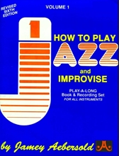 Picture of How To Play Jazz and Improvise - Volume 1 Book/CD