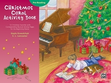 Picture of Christmas Carol Activity Book - Pre-Reading