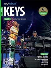 Picture of Rockschool Keys Grade 2 2019+
